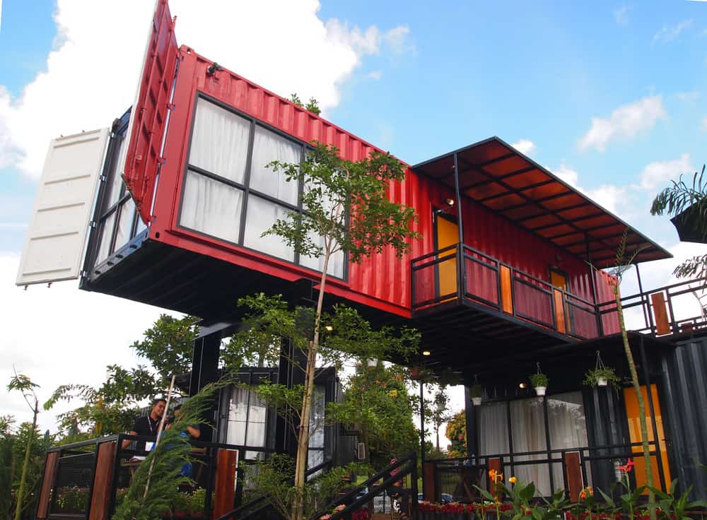 container home example red