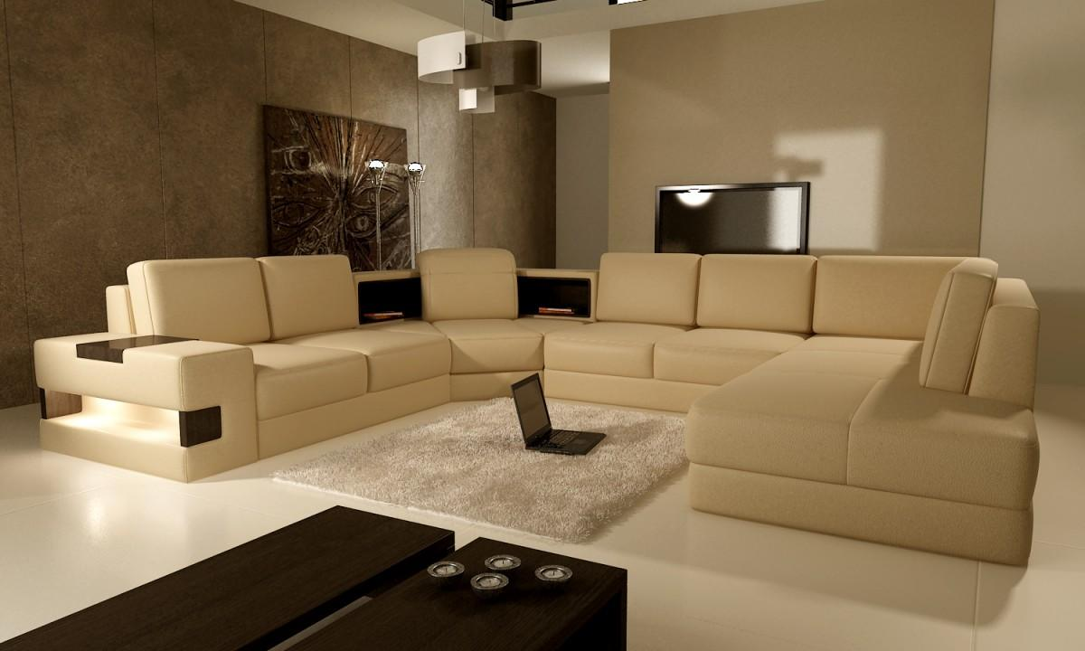 Beige living room as a modern day sanctuary