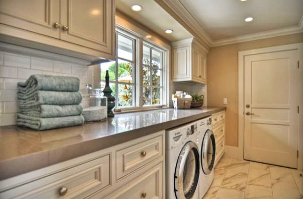 Classic Laundry Room cabinets