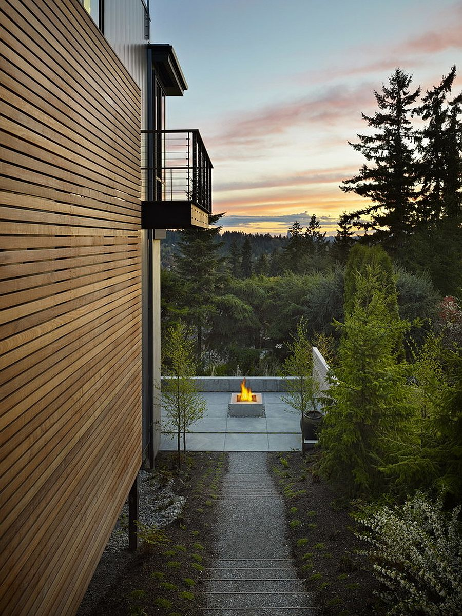 Hillside Home te transporta al regazo de la naturaleza [Design: DeForest Architects]