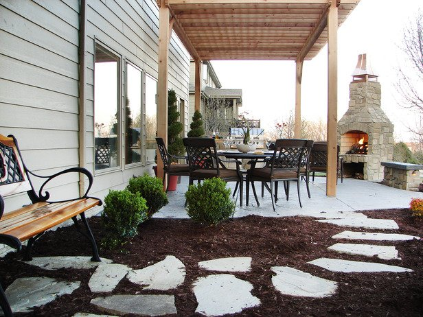 Outdoor Fireplace Inspiration 13