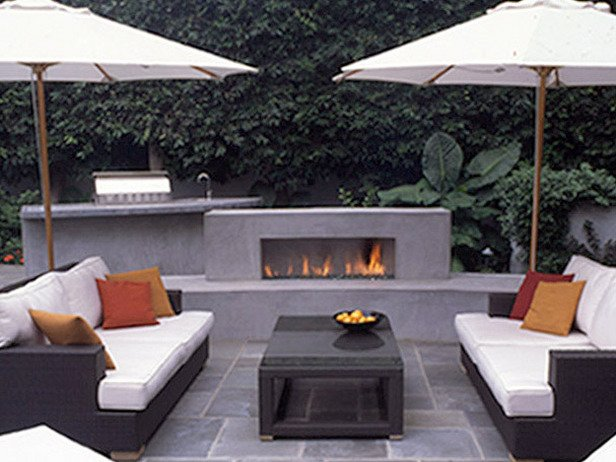 Outdoor Fireplace Inspiration 14