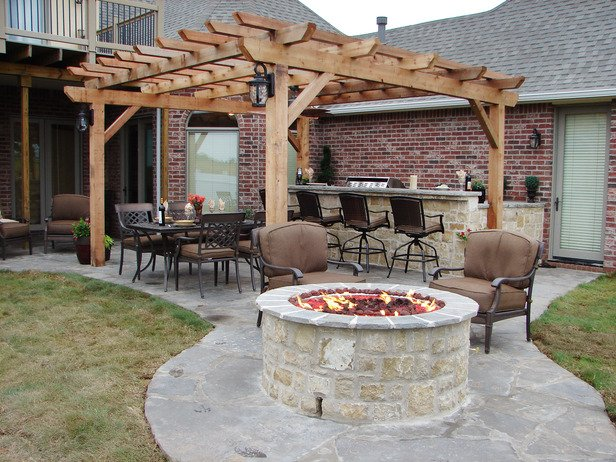 Outdoor Fireplace Inspiration 18