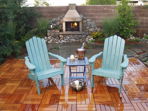 Outdoor Fireplace Inspiration 19