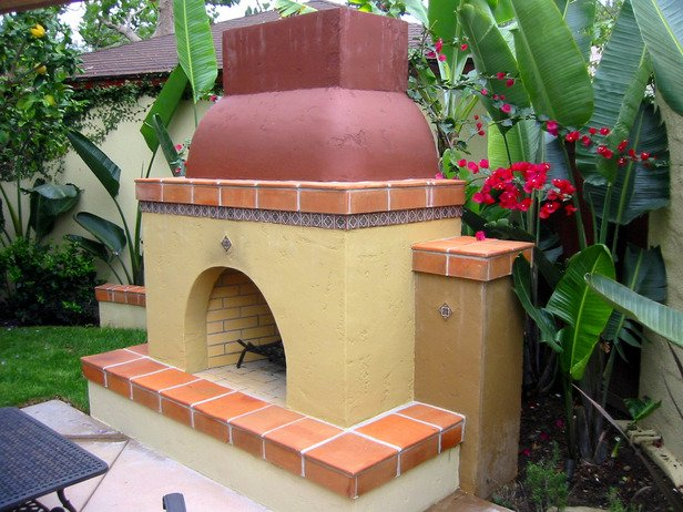 Outdoor Fireplace Inspiration 24