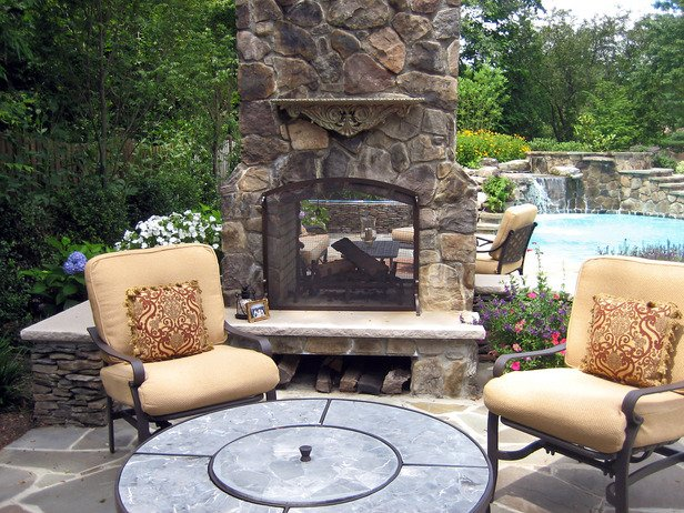 Outdoor Fireplace Inspiration 25