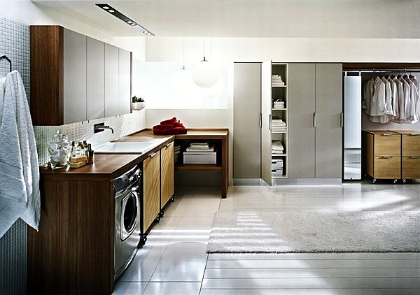 Spacious Laundry Room Solution
