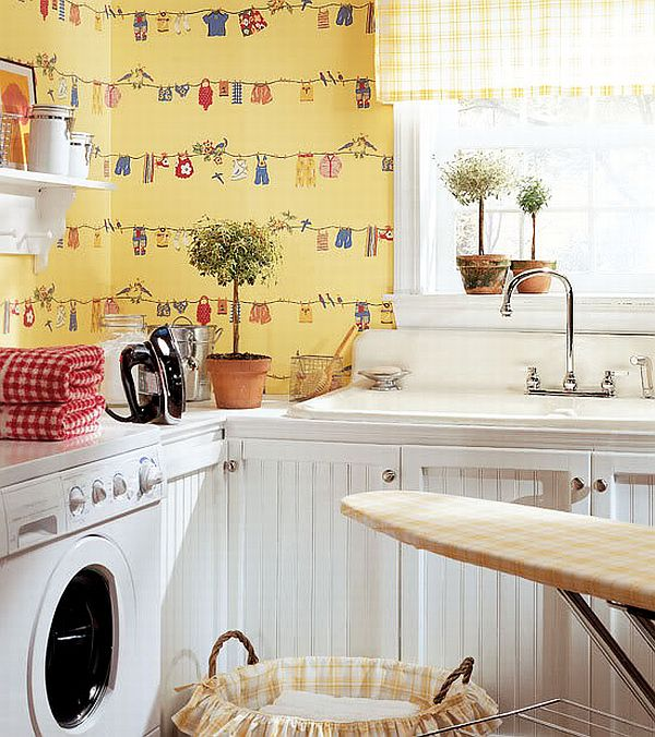 Thibaut Laundry Room Wallpapers